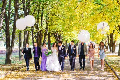 Креативная свадьба Славы и Юли
