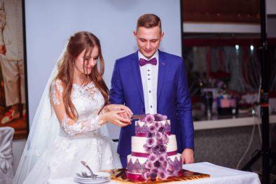 """Сиреневая свадьба Александра и Дарьи в """"Рамаде"""""""