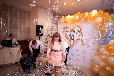 Детский День Рождения по-взрослому! Эльвире 10 лет