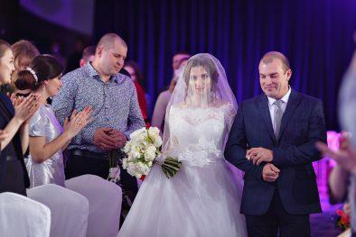"""Зимняя свадьба Павла и Яны в """"Шахтар Плазе"""""""