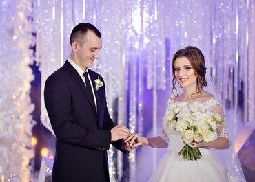 Зимняя свадьба Павла и Яны в «Шахтар Плазе»