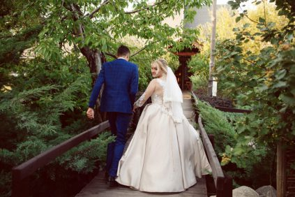 """И днем, и ночью. Вместе. Навсегда... Свадьба Кости и Кати в ресторане """"ДерЁвня"""""""