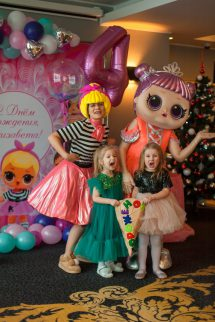 День рождения с куколками LOL