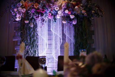 Потрясающая золотая осеняя свадьба Дениса и Аллы в Донецке