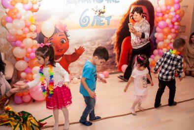 """Детский День Рождения с аниматорами по мотивам мультфильма """"Моана"""""""