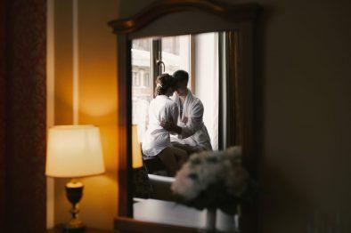 Свадьба Яси и Никиты с церемонией на лестнице