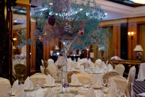 Космическая свадьба Дениса и Татьяны в гостинице Donbass Palace