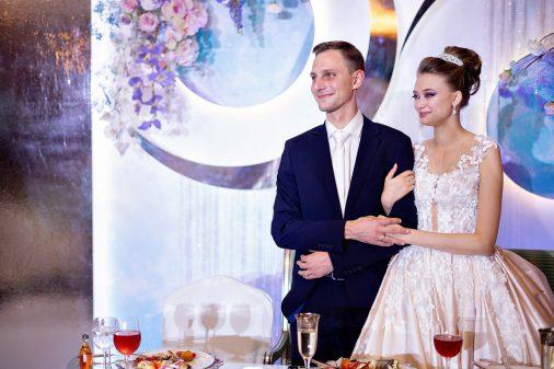 """Космическая свадьба Дениса и Татьяны в гостинице """"Donbass Palace"""""""