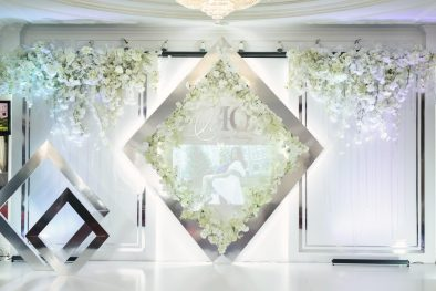 Красивая свадьба с геометрией. June Wedding