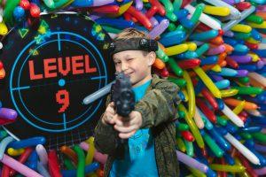 День Рождения Лёни «Laser Tag Party. Level 9»