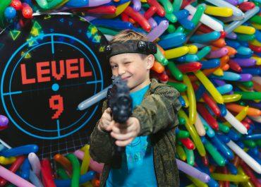 День Рождения Лёни Laser Tag Party. Level 9
