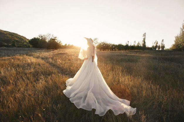 Стильная свадьба с пампасной травой и сухоцветами