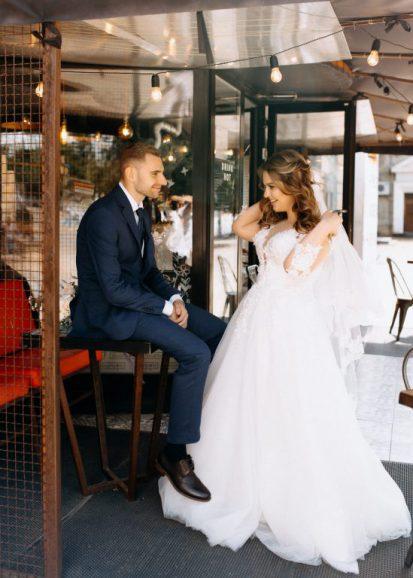 Красивое венчание и свадьба Дениса и Анны в Донецке