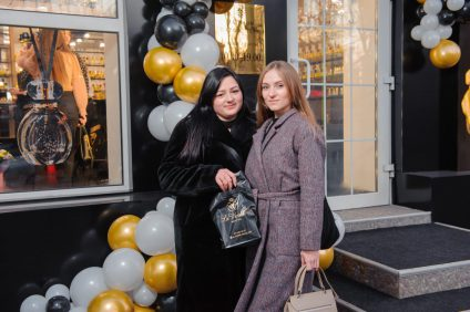 "Открытие магазина ""Парфюмеръ"" в Донецке"